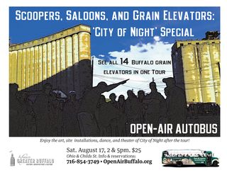 Tour Poster City of Night Grain Elevators