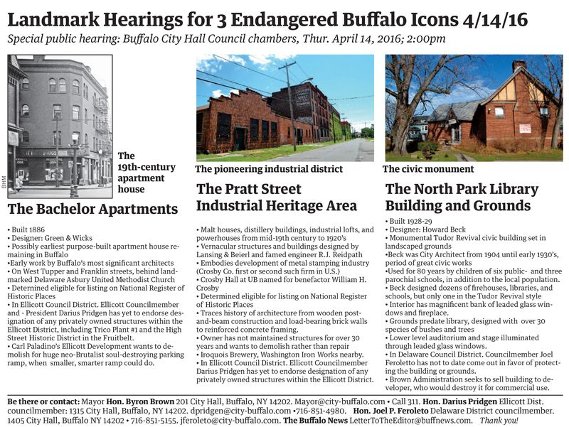 Landmark Hearings info sheet