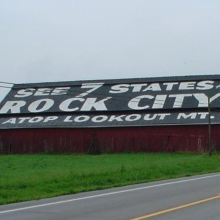 Barn roof sign