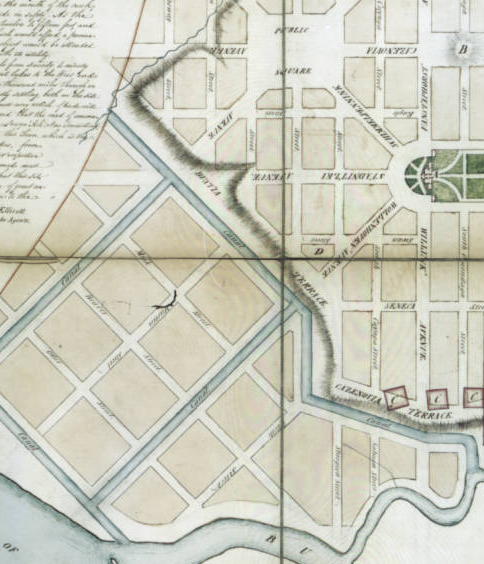 New Amsterdam proposed plan 1800
